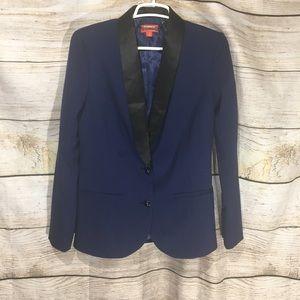 Kirna Zabete small blue jacket with satin lining